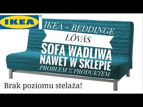 IKEA Sprzedaje Wadliwy Produkt Sofa BEDDINGE - Zgłoszenie Problemu