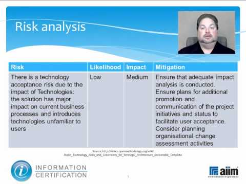 Business Case and Risk Analysis Elements