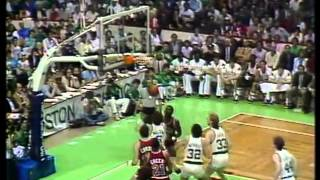 Michael Jordan - 1985-  1st round Playoffs -  Boston Celtics  Vs  Chicago Bulls