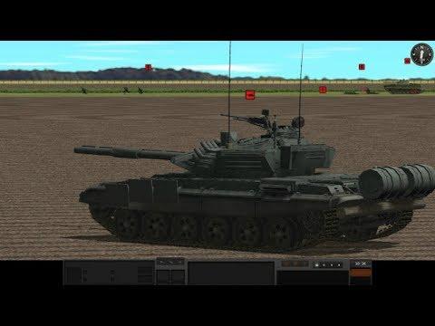 ТАНКОВОЕ ПОБОИЩЕ Т-14 Армата против БМ Оплот ! Танки в Игре В Тылу Врага 2 Cold War