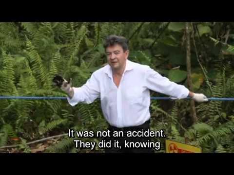 Jean Luc Mélenchon witnesses Chevron / Texaco pollution in the Amazon