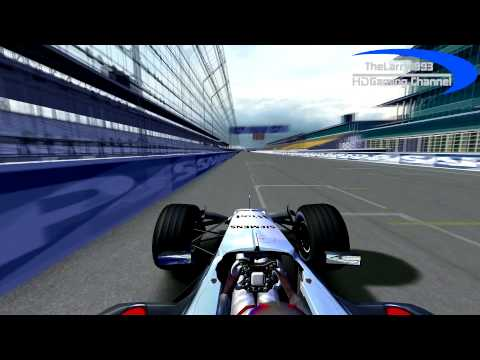 rFactor F1 2005 by RMT - J.P.Montoya in Indianapolis