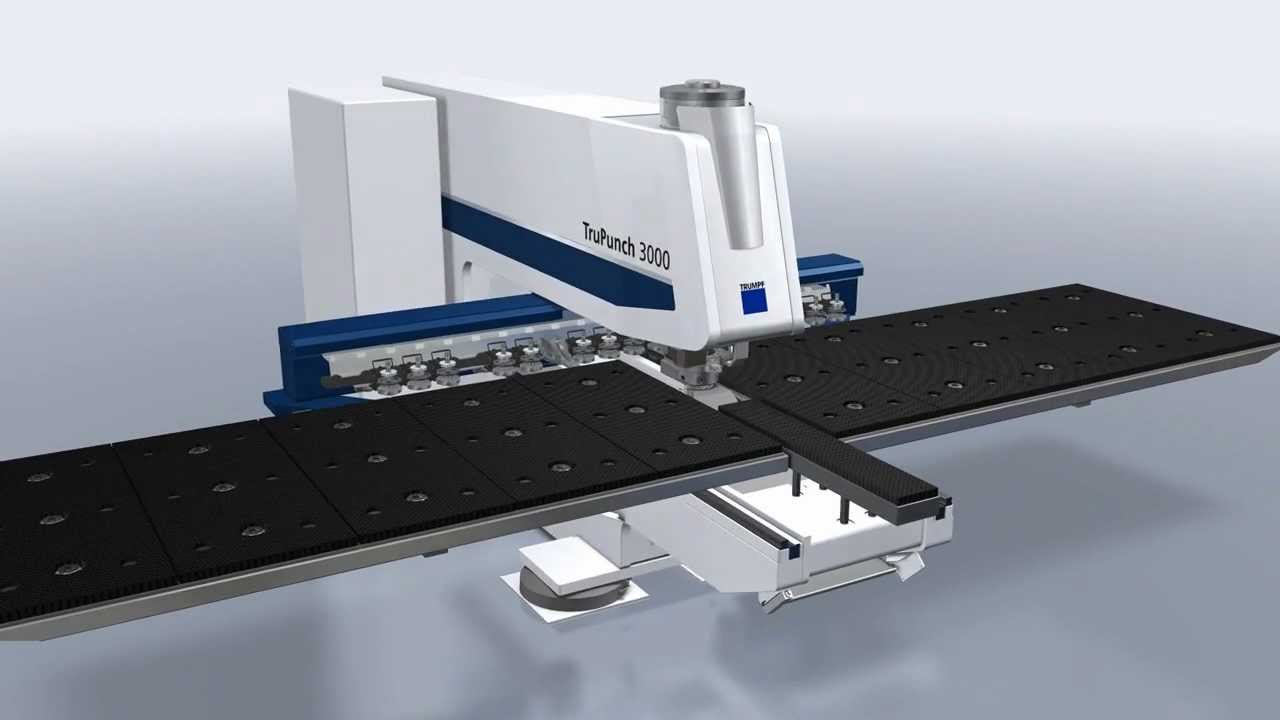 trumpf punching machines trupunch