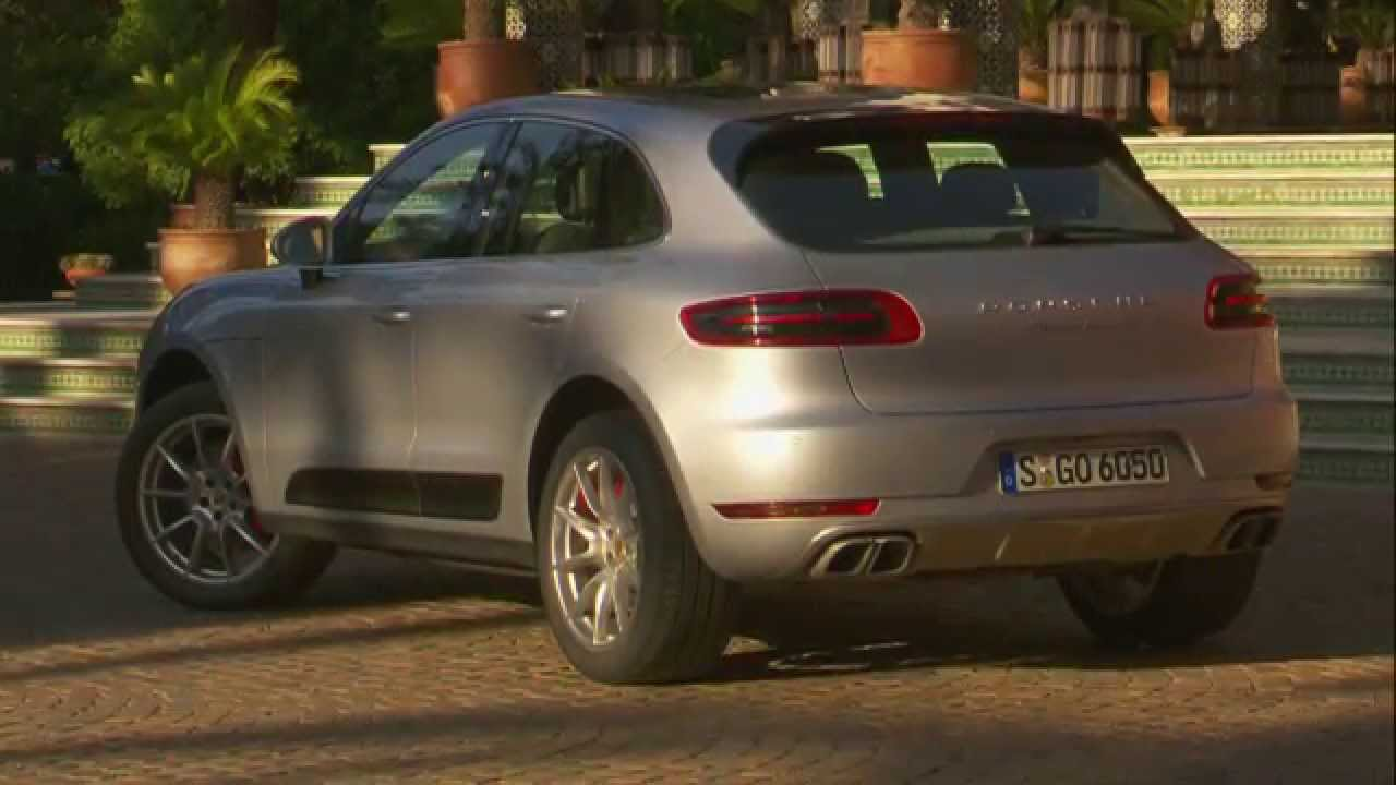 Porsche Macan Turbo Morocco Footage Rhodium Silver