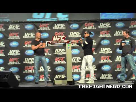 Chuck Liddell Q & A from UFC 128 - Part 5 of 5
