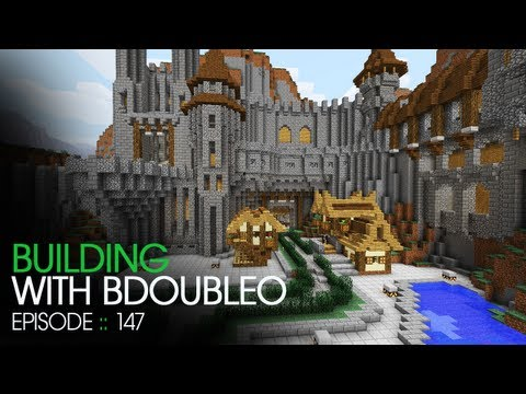 Minecraft Building with BdoubleO Episode 147 Creating a canvas