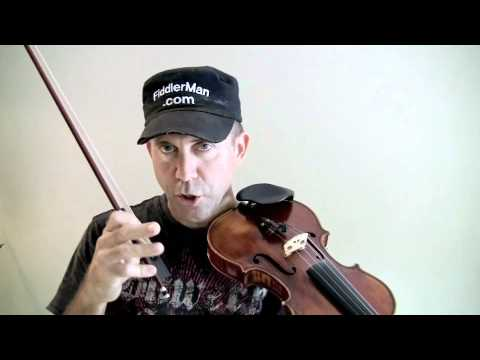 Learn to play harmonics on the violin.m4v