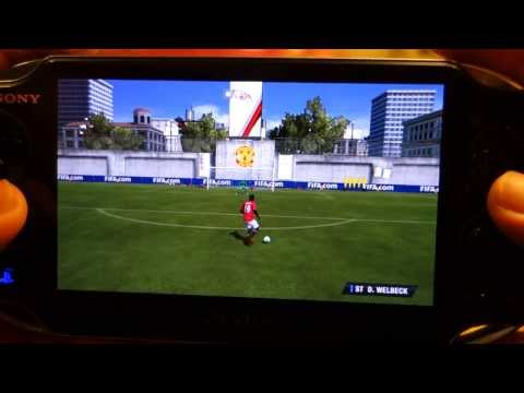 Fifa 14 Gameplay on PS Vita - Game Demo and Review