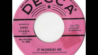 Watch Roy Drusky It Worries Me video