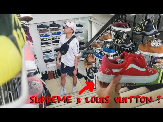 SUPREME x LOUIS VUITTON VANS sa UKAY ? ( Ukay Ukay Shoes ) sta.mesa