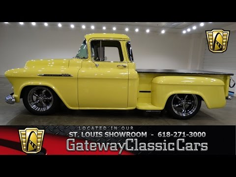 Gateway Classic Cars St. Louis Showroom Stock # 6505 1956 Chevy 3100