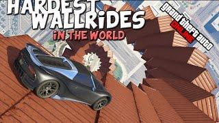 GTA ONLINE - HARDEST WALLRIDES IN THE WORLD - (GTA 5 ONLINE)