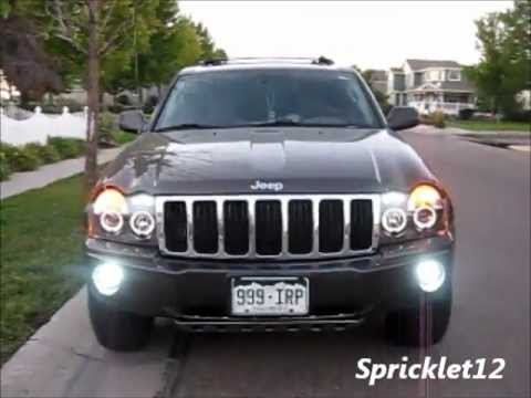 Jeep Wk Spyder Head Lights Before After Youtube