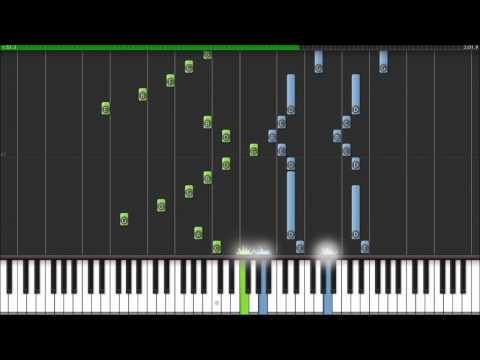 Synthesia Monochrome No Kiss (kuroshitsuji Theme) video