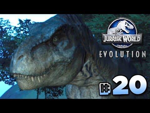 THE T.REX BREAKOUT!!! - Jurassic World Evolution FULL PLAYTHROUGH   Ep20 HD