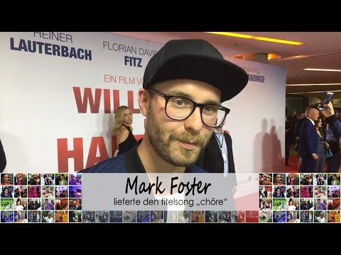 WILLKOMMEN BEI DEN HARTMANNS - Shorty mit Sänger Mark Forster