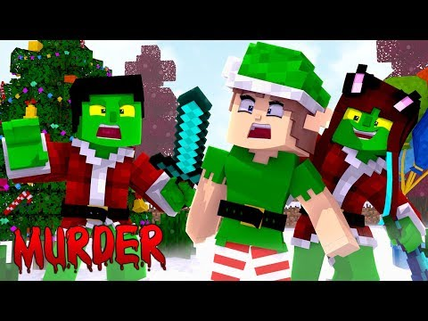 ATERRORIZANDO O NATAL! - Minecraft Murder Mystery