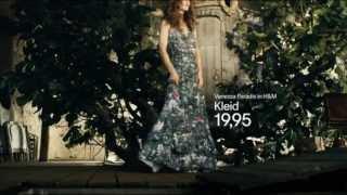 H&M Werbung Vanessa Paradis H & M CONSCIOUS COLLECTION Werbung