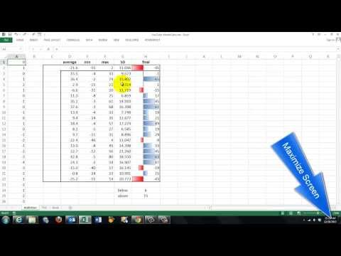 Monte Carlo Simulations in Excel