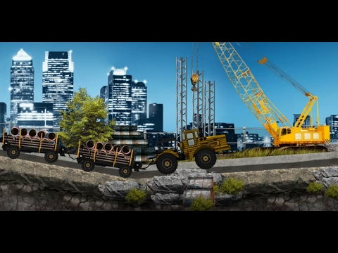 Heavy Trailers for Children   Kids Truck Video   gameplay