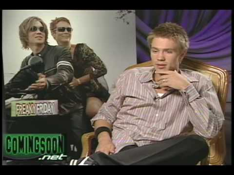 Classic Chad Michael Murray interview for Freaky Friday Video