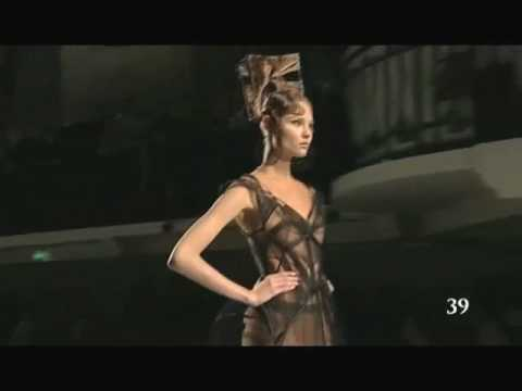 Jean Paul Gaultier s.s 2009 Haute Couture Part 2