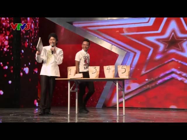 """Vietnam's Got Talent 2014 - """"Tuyệt chiêu"""" của giám khảo Hoài Linh"""