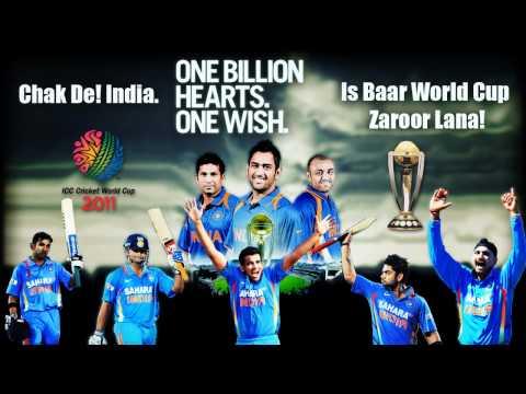 Chak De India + De Ghuma Ke(remix) = celebration India Won World Cup 2011 Championship video