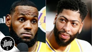 LeBron at point and Anthony Davis at center: Is this the Lakers' closing lineup? | The Jump