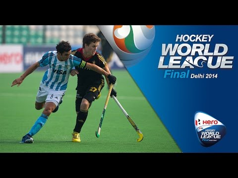 Belgium vs Argentina - Men's Hero Hockey World League Final India 5th/8th Place [17/1/2014]