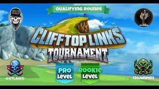 Golf Clash - Clifftop Links Tournament Pro & Rookie Qualifying Round