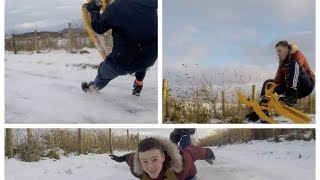 Fast Ice Sledging in HD