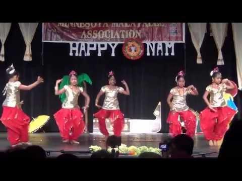 MMA Onam 2014 Semi classical dance - Asatoma Sadgamaya