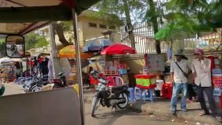 My Trip To Phnom Penh Capital City Of Cambodia On Tuk Tuk And Buying Street Food Near Russian Market