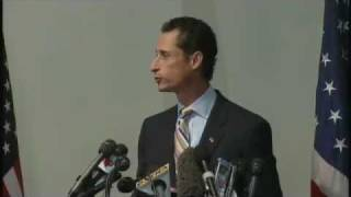 Anthony Weiner Press Conference_ Resignation Met With Lewd Heckles (06.16.11)