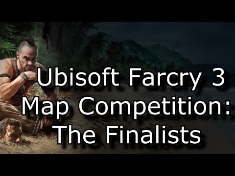 Ubisoft Farcry 3 Map Competition Finalists (Playstation 3)