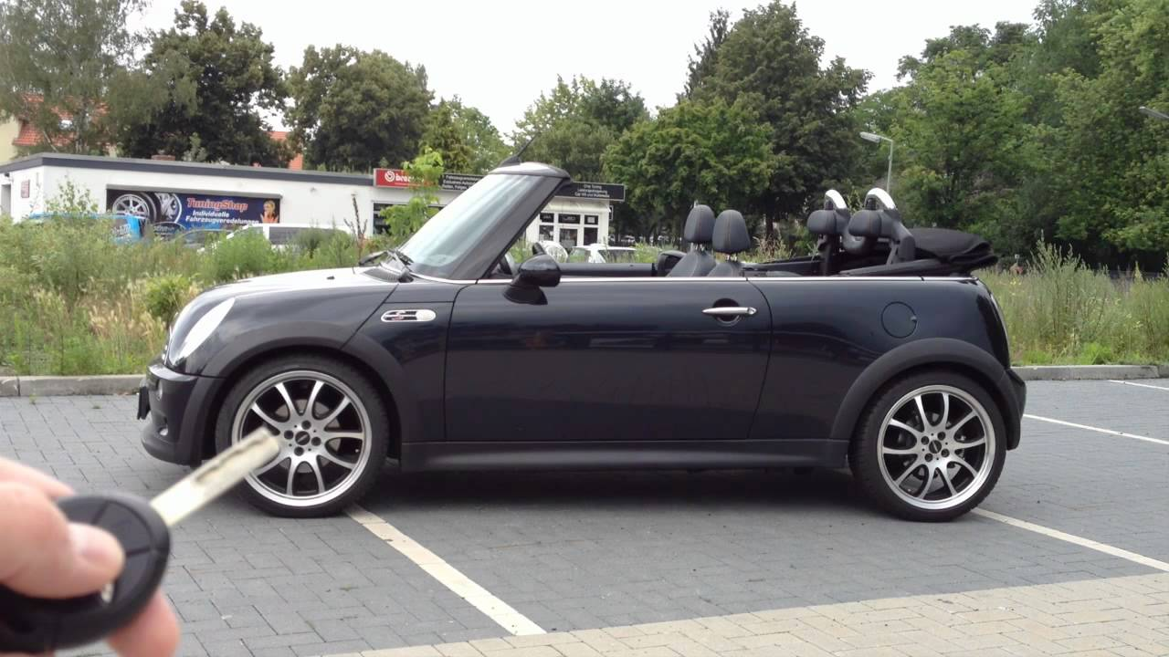 mods4cars smarttop for bmw mini r52 cabrio convertible. Black Bedroom Furniture Sets. Home Design Ideas