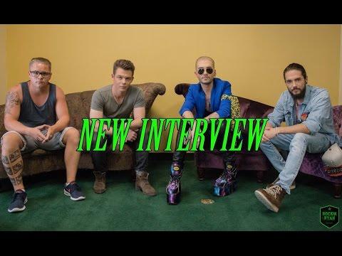 Tokio Hotel Interview with Music Junkie Press, San Francisco 2015 HD