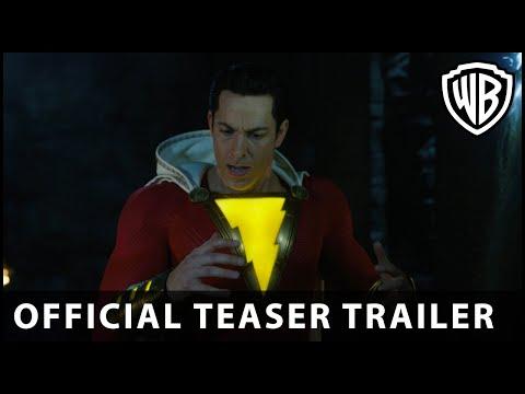 Shazam -  Teaser Trailer - Warner Bros UK