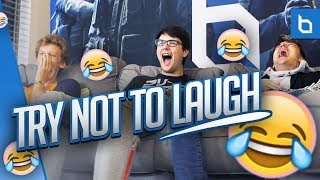 TRY NOT TO LAUGH OR GRIN CHALLENGE ft. Obey House! *IMPOSSIBLE*