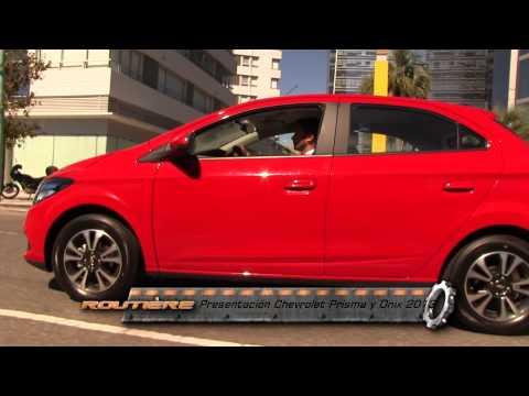Routière Presentación Chevrolet Onix y Prisma - Nota Alejandro Lanusse