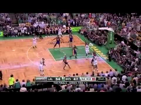 2010 NBA Finals - Lakers vs Boston Celtics Game 3 Recap Fisher Clutch Shots