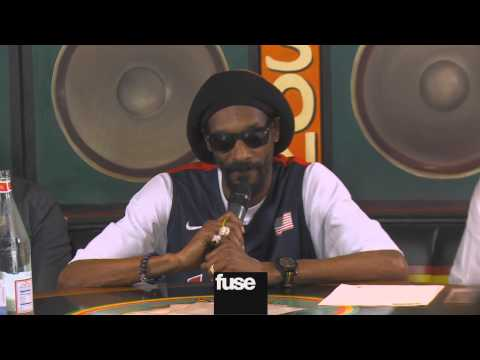 "Snoop Dogg ""Reincarnated"" as Snoop Lion - Press Conference"