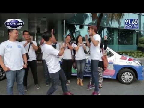 INDIKA FM – NGGOK dan SAHIL Nraktir Pemenang Kuis DATSUN GO PANCA YOUTUBE VERSUS COMPETITION