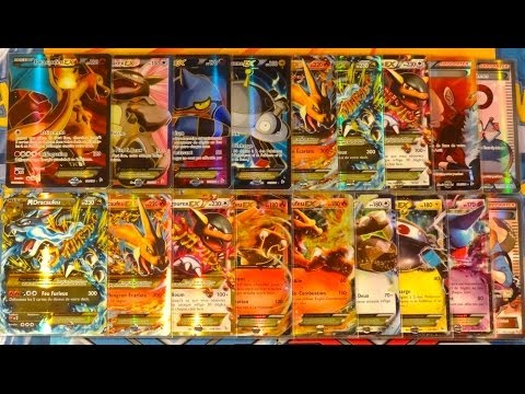 Toutes les cartes pokmon ultra rares de xy 2 etincelles - Mega evolution dracaufeu ...