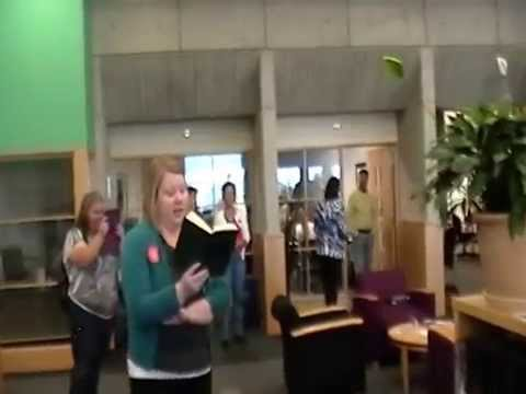 Arapahoe Community College Library Banned Book Flash Mob 2014