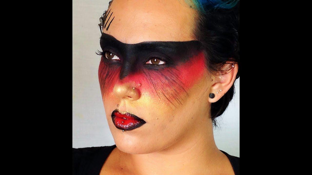 Warrior Queen Fantasy Makeup