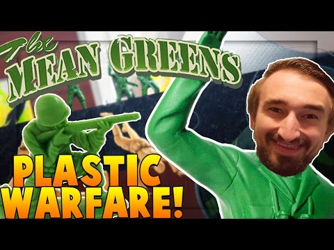 EPIC Plastic Toy Soldier Warfare - The Mean Greens