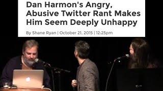 Dan Harmon reads a mean article about Dan Harmon
