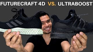 Adidas Ultraboost vs Adidas FutureCraft 4D | Adidas Made A Better Shoe Than The Ultraboost?